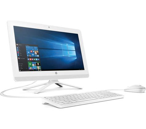 Pc Hp Aio 22 3015l hp 22 b060na 21 5 quot all in one pc white office 365 personal deals pc world