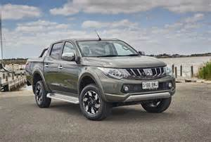 Mitsubishi Triton 2017 Mitsubishi Triton Update Now On Sale In Australia