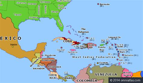 map of usa and cuba cuban revolution historical atlas of america 1
