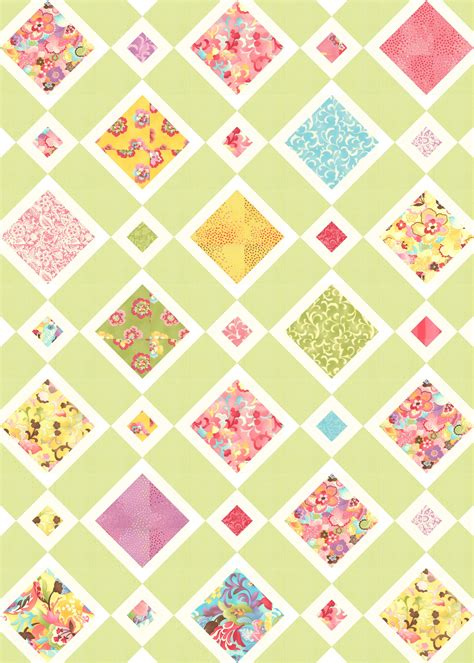 Quilt Pattern On Point | lms on point quilt