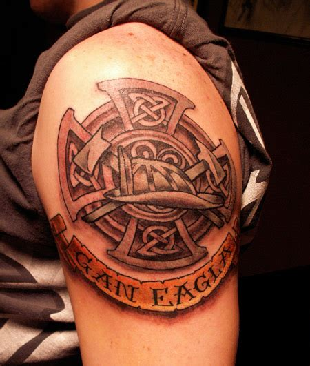 celtic maltese cross tattoos celtic maltese shoulder shared by smokin