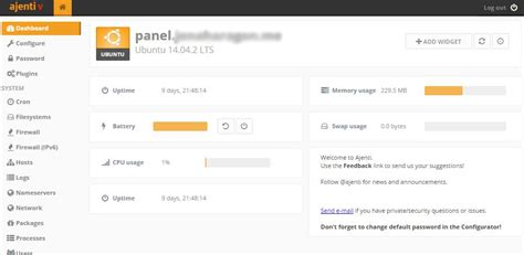 installing bootstrap on ubuntu 14 04 how to install the ajenti control panel and ajenti v on