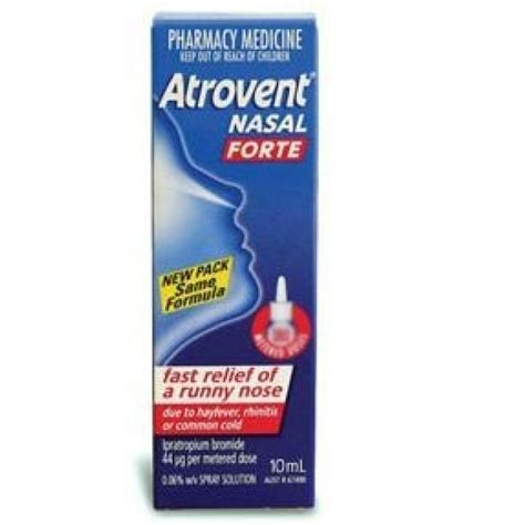 Detox Runny Nose by Atrovent Nasal Forte 10ml Pharmacy 4 Less
