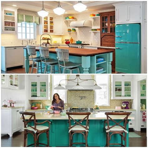 turquoise kitchen island inspired center island counters for your kitchen