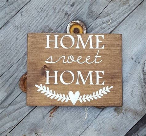wooden signs home decor home sweet home wood signs sayings rustic wooden home decor