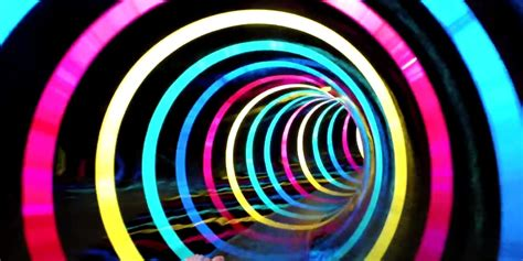this led waterslide will blow your damn mind huffpost