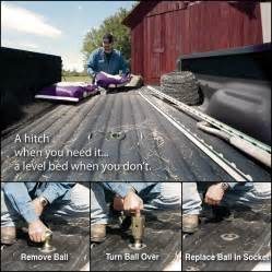 Truck Bed Organizers Turnover Ball Gooseneck Trailer Hitch