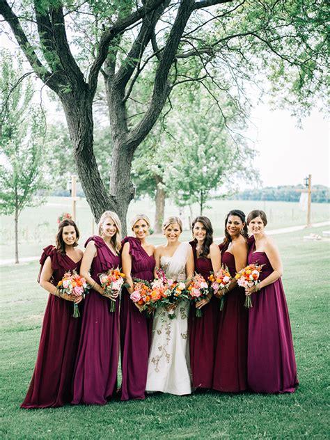 wedding colors berry tones american wedding wisdom