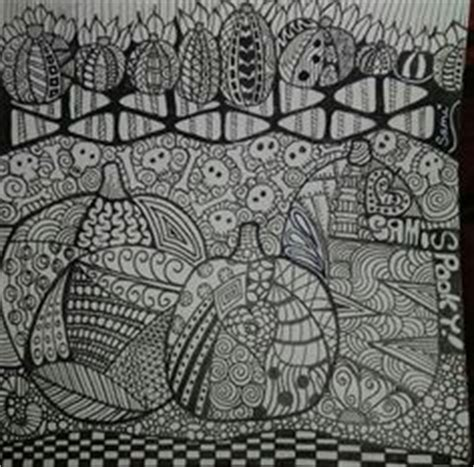 zentangle pumpkin printable 1000 images about zentangle pumpkins on pinterest yayoi
