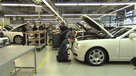 rolls royce factory rolls royce factory in goodwood youtube