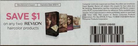 revlon hair color coupons revlon colorsilk hair color only 2 50 at walgreens with