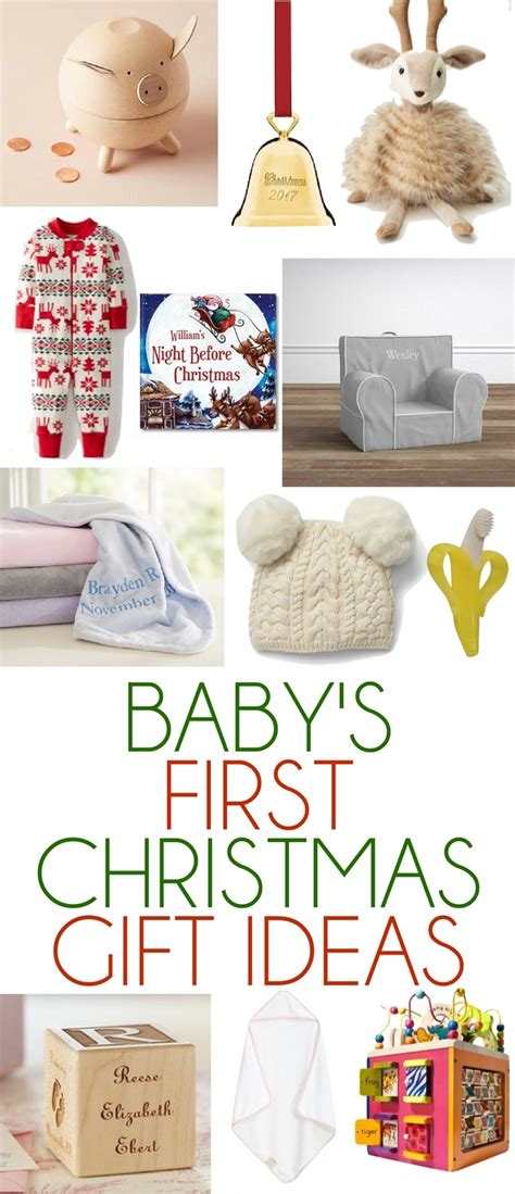 baby s first christmas gift ideas lovely lucky life