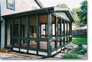 Enclosed Porch Plans by Homeworks Inc