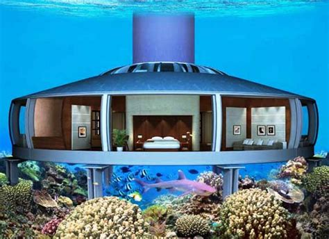 houses under water underwater hotel house tech and facts