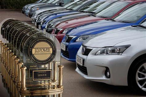 Most Reliable Automaker by لكزس تفوز بلقب أفضل شركة إعتمادية في العالم للمرة الرابعة