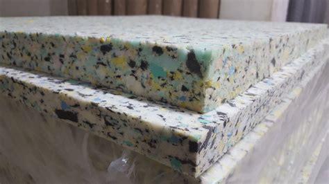Kasur Busa Gmw Foam jual busa rebonded 70 rebonded foam matras peredam suara kasur terapi mulia