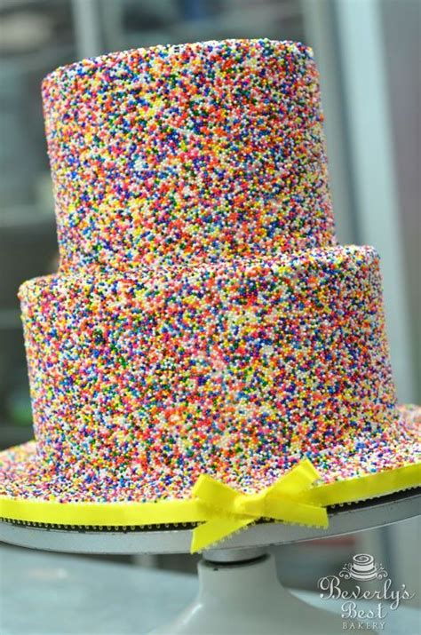 multi colored cake multi colored sprinkle cake by beverly s bakery grown up