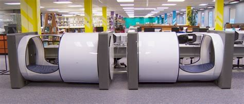 in pods bcit installs new sleep pods in library columbia