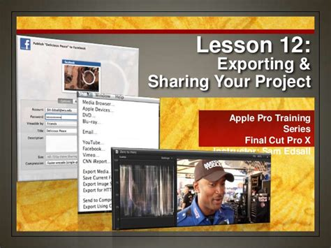 final cut pro lessons final cut pro x weynand certification lesson 12