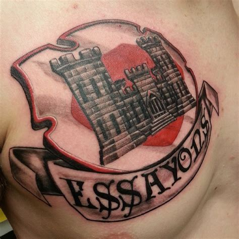 tattoo ideas for engineers army engineer tattoo www pixshark com images galleries
