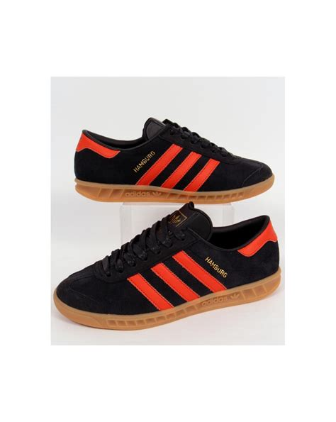 Adidas Orange Black adidas hamburg shoes black and orange