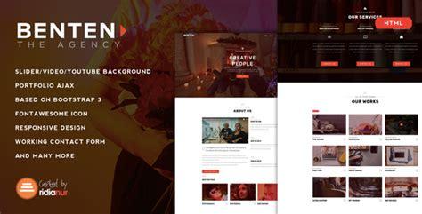 Cizarua Responsive One Page Portfolio Template benten responsive one page portfolio template by
