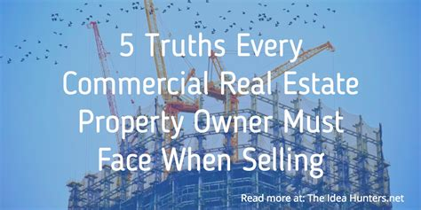 is commercial real estate for you books 5 truths every commercial real estate property owner must