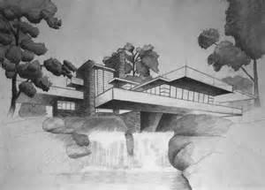 Frank Lloyd Wright Prints Frank Lloyd Wright S Fallingwater By Filipwalczak On