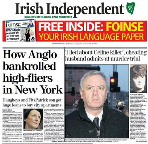bank of ireland in new york wednesday newspaper review business news and