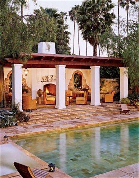 Spanish Style Backyard Spanish Style Architecture