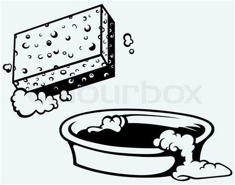 piktogramm badewanne sauber blasen behandlung vektorgrafik colourbox