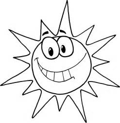 what color is the sun free printable sun coloring pages for