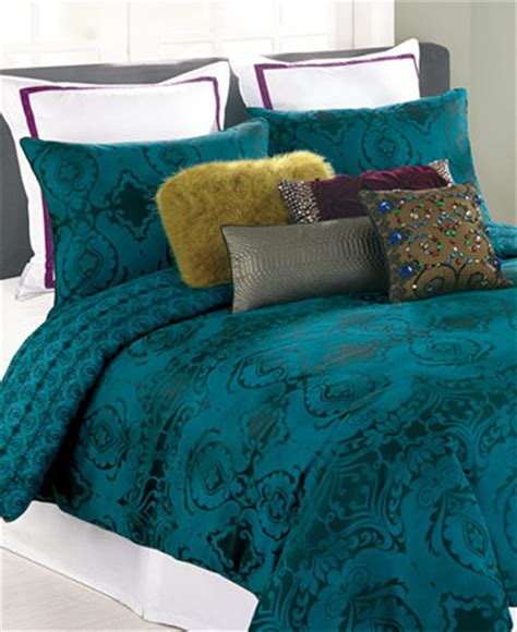 dark teal comforter closeout nanette lepore villa teal baroque comforter and