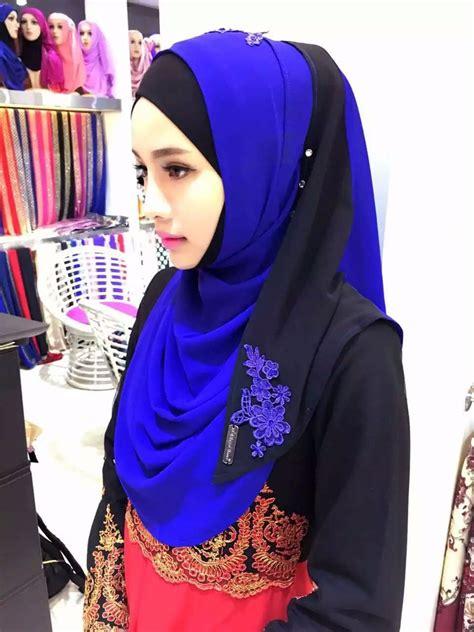 Hjab Instant Alika 1 new arrival kuwaiti high end heavy chiffon instant tudung vietnan buy kuwaiti