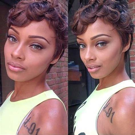 pin curls on pixie cut black hairstyles pin curls short hair short hairstyle 2013