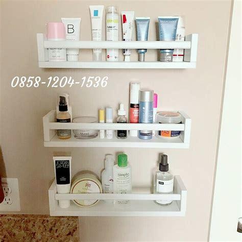 Rak Kosmetik Sederhana jual rak buku rak bumbu dapur rak dinding unik rak gantung
