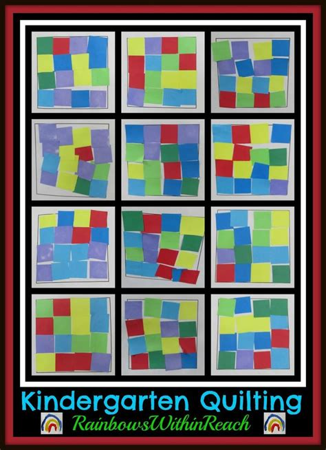 quilt pattern art lessons 474 best images about preschool crafts on pinterest