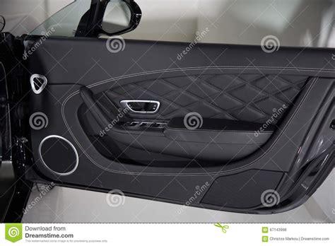 Car Door Interior Luxury Car Door Panel Detail Stock Photo Image Of Interior Luxury 67143998
