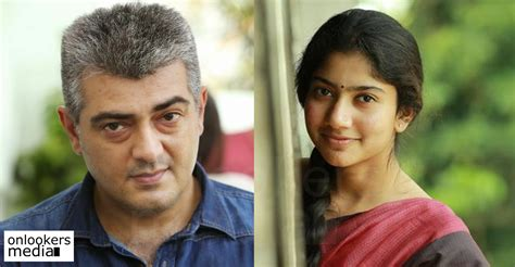 tamil actor ajith all film list thala 57 sai pallavi turned down the offer to share