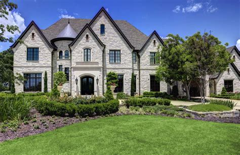 chateau style homes a chateaux style home in southlake