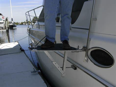 canal boat gangplank aluminum boat dock planks