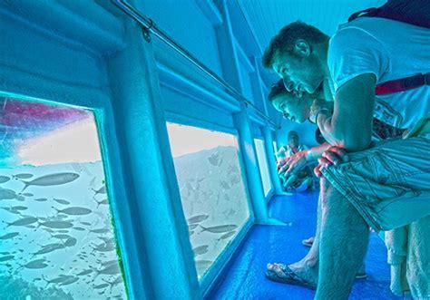 glass bottom boat jandia atlantic adventure from lanzarote ihoppers