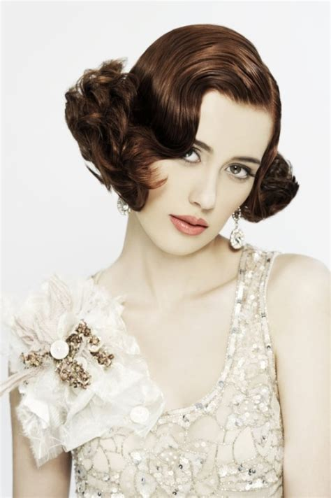 vintage hairstyles ideas picture of stunning vintage waves bridal hair ideas