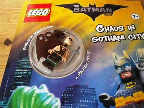 Lego Batman Tartan lego batman exclusive tartan minifigure with activity book