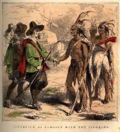 Lesson 5 what happened between the pilgrims and the native americans
