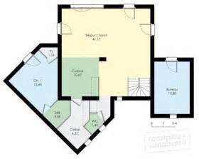 maison moderne d 233 du plan de moderne faire