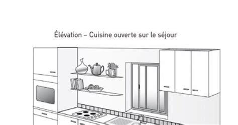 Impressionnant Plan Petite Cuisine Ouverte #4: plan-de-cuisine-lineaire-ou.jpg