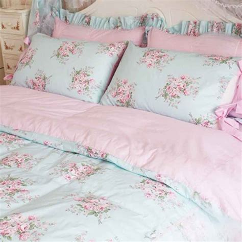 Rose Bedding Shabby Chic Quilts And Bedspreads