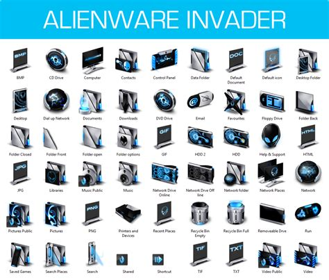 cool themes for windows 8 1 free download alienware invader iconpack installer for win8 8 1 by