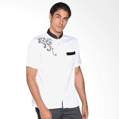 Setelan Koko Senshukei Hitam Medium jual batik adikusuma 802001016 baju koko pria hitam putih harga kualitas
